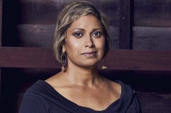 Author and broadcaster Indira Naidoo.