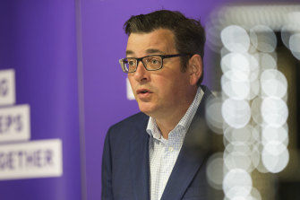 "Premier Daniel Andrews says he is confident he will make ""significant announcements"" on Sunday."