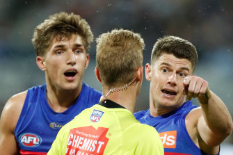 Grounded: The Lions will stay in Victoria for at least another day.