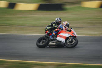 Social Scene reporter Lucy Manly takes a ride with MotoGP champ Jack Miller.