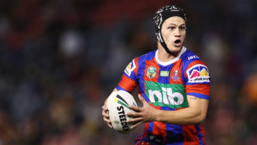 Big wraps: Kalyn Ponga said earlier this week he would love to play for the All Blacks, and the All Blacks would love to have him.