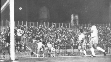 Australia loses to Israel 2-1 in a friendly just prior to the World Cup in 1974.