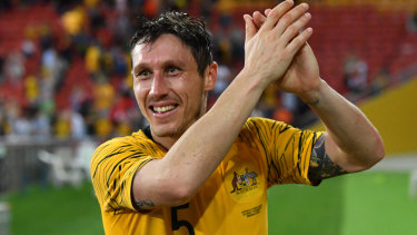 Socceroos veteran Mark Milligan.