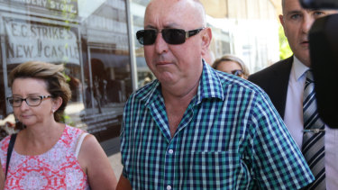 Peter Creigh was indecently assaulted by Hunter priest Jim Fletcher.