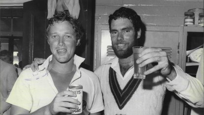 'Pretty brutal': Cricket legend Kim Hughes reveals alcohol battle