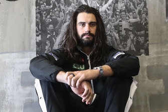 Collingwood star Brodie Grundy.
