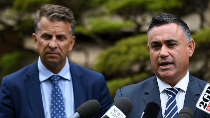 John Barilaro says he would back Andrew Constance for the seat of Eden-Monaro