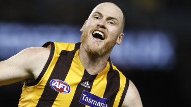 Jarryd Roughead was a dominant force against the Suns.