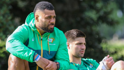 Kerevi's Olympic dream fuelled by unfinished Wallabies business