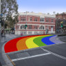 New rainbow crossing at Taylor Square 'a victory' for LGBTIQ community