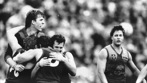Flashback 1988: Melbourne and West Coast clash in finals nail-biter