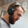 Over-ear headphones fit for a workout