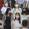 The Tokyo Governor Yuriko Koike has urged young Japanese people in her city to get vaccinated.