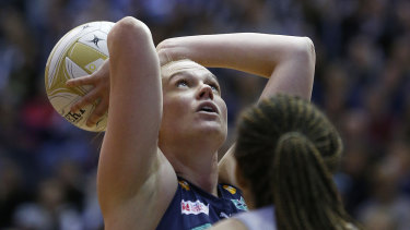Caitlin Thwaites and the Vixens will play rivals Collingwood while in isolation in Queensland.