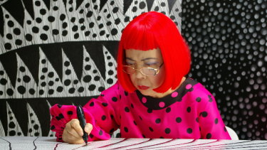 Yayoi Kusama in Kusama: Infinity