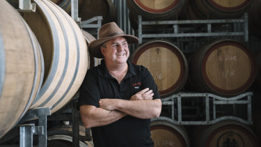 Paul Squires of Buller Wines.