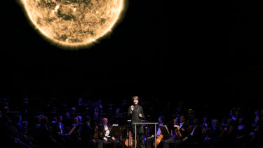 Music meets the cosmos: Brian Cox   with the MSO.