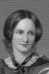 An engraving of Charlotte Bronte after the original painting by Chappel.
