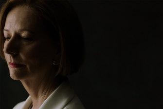 Australia's first female prime minister, Julia Gillard.