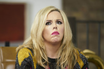 Roisin Conaty as Marcella in Gameface, now streaming on Stan.