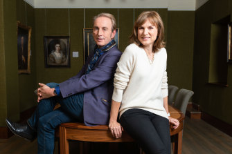 Fake or Fortune? Presented by Philip Mould and Fiona Bruce, of Antiques Roadshow fame.