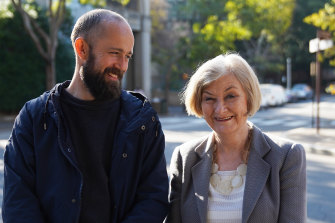 Christiaan Van Vuuren with Sydney Morning Herald senior investigations writer Kate McClymont in Big Deal.