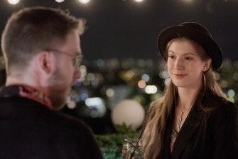 Kassandra on a date in season two of Love on the Spectrum.