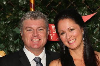 Stuart MacGill and Julie Singleton's relationship ended in a blaze of headlines in 2017.
