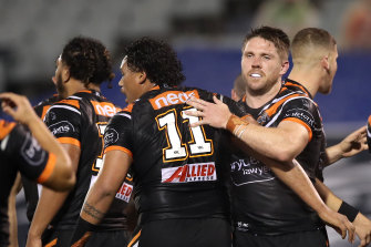 Veteran Tiger Chris Lawrence could be in line for a return to the centres.