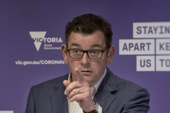 Daniel Andrews tells business: It's not all about profits.