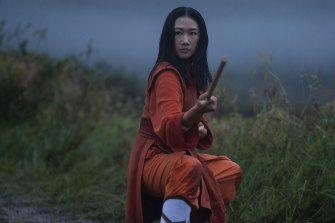 Nicky (Olivia Liang) escapes her tiger mum to learn kung fu in this reimagining of the David Carradine martial arts series.