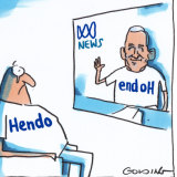 Ian Henderson has called it a day.