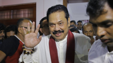 Newly appointed Sri Lankan Prime Minister, and former president, Mahinda Rajapaksa is seen as close to China.