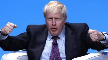 Boris Johnson, former UK foreign secretary and Tory leadership hopeful.