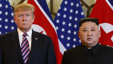 Trump was unhappy that reporters shouted questions about domestic issues during his meeting with Kim.