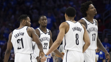 The Nets took the upset win in game one.