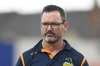 Brumbies coach Dan McKellar.