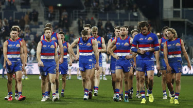 The Western Bulldogs headed to Perth on Sunday after their loss to Geelong on Friday night.