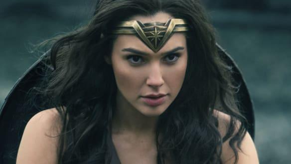 Gal Gadot in 2017's Wonder Woman.