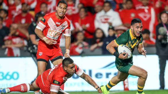 Kangaroos match Tonga for pride and passion in historic victory