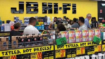 JB Hi-Fi boss warns of serious TV shortage as spending boom continues