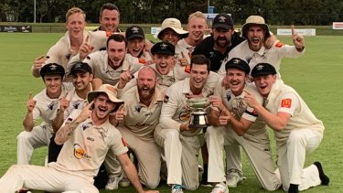 The Ginninderra Tigers have their hands on the Cricket ACT Douglas Cup for the first time in 26 years.