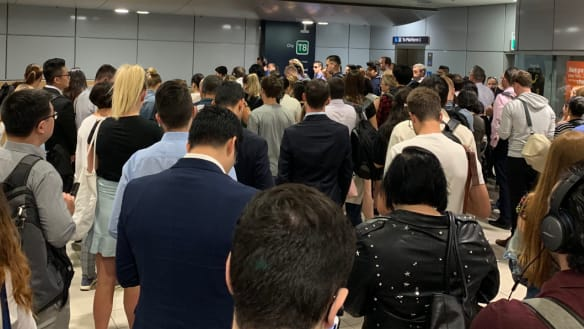 'Transport mess': Passengers at one Sydney station nearly double in three years
