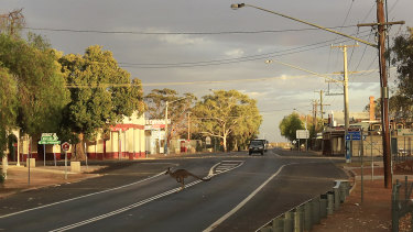 The far western NSW town of WIlcannia is in the grip of a COVID-19 outbreak.