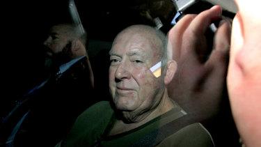John Chardon following his arrest in June, 2016.