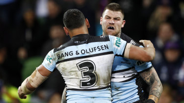 Free to go ... Josh Dugan is one of several players told by Cronulla to test the market.