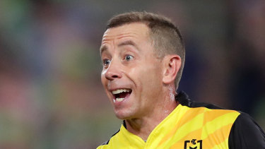 The stoush between the NRL and the referees has been resolved.