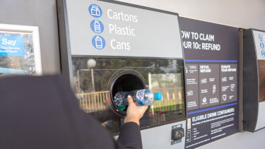 A container deposit scheme would cost $9 million over four years, but could draw revenue of more than $200 million,