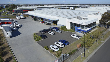 The deal for 1-5 Jets Court in Tullamarine was struck at a rental rate of $220,000 per annum.