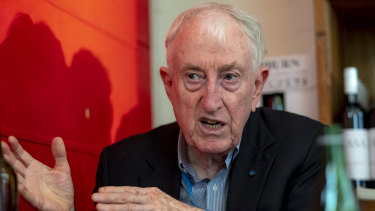 Nobel Prize winner Peter Doherty praised the federal government's actions to halt the spread.